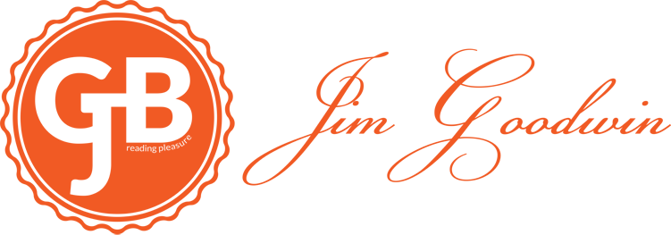 Logotype (orange) for Jim Goodwin Books © All Rights Reserved 2018